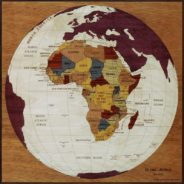 carte globe afrique