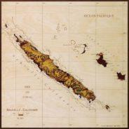 carte de la nouvelle caledonie