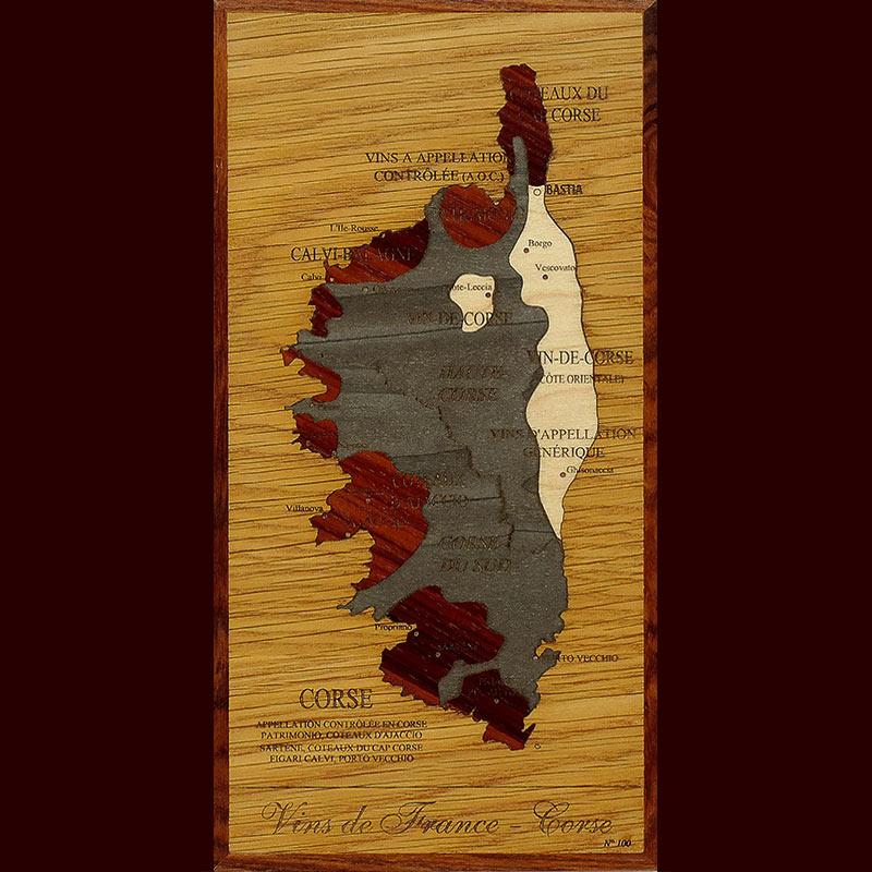 carte des vins de corse